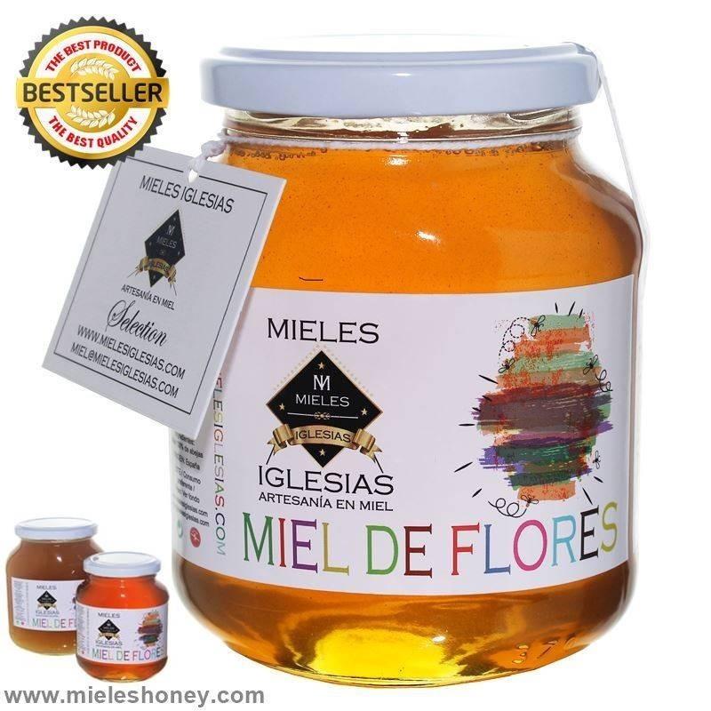 Miel de flores natural cruda