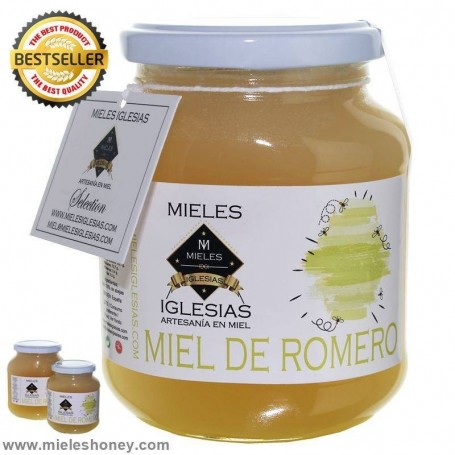 Natural Rosemary Honey / RAW