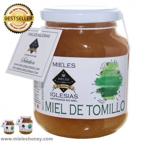 Miel de Tomillo Natural / CRUDA