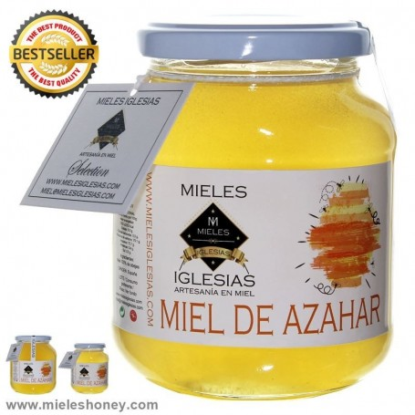 Natural orange blossom honey (Spain)