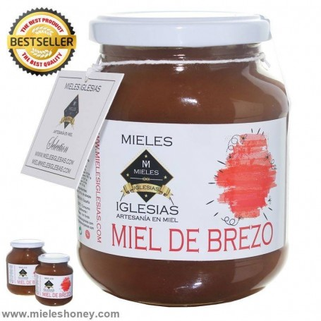 Miel de brezo Natural cruda