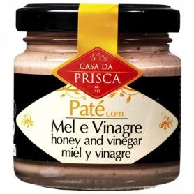 Paté de miel con vinagre