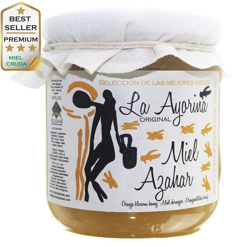 Orange Blossom Honey RAW |Special Selection| SPAIN