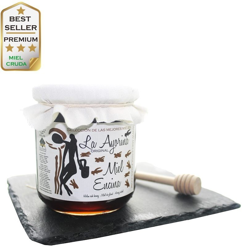 Miel de Encina (bellota) CRUDA |Selección|