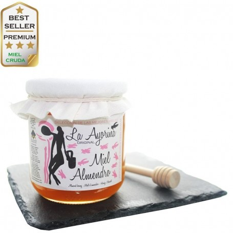 Almond raw Honey RAW - Special Selection - SPAIN