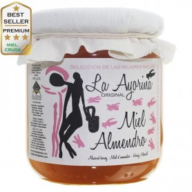 Almond raw Honey RAW |Special Selection| SPAIN