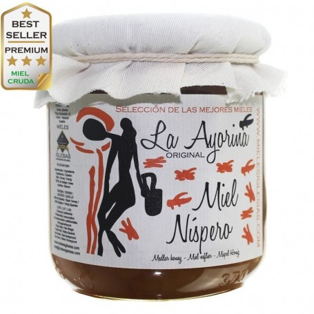Loquat raw Honey RAW |Special Selection| SPAIN