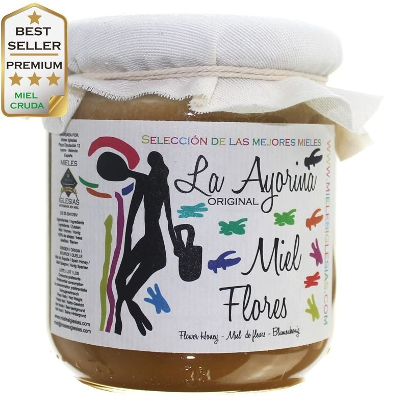 Thousand Flowers Honey RAW |Special Selection| SPAIN