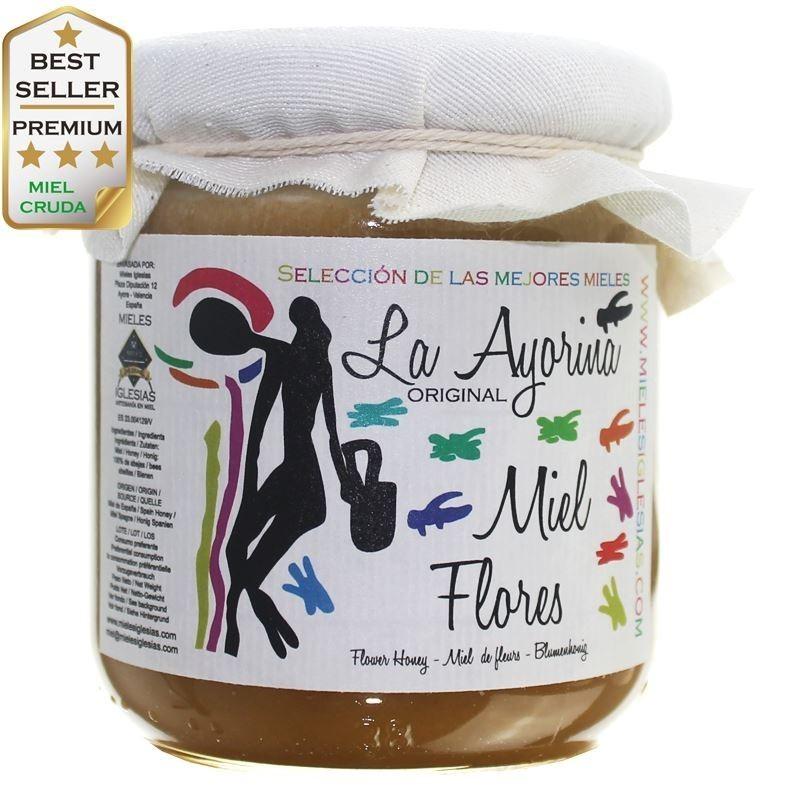 Miel cruda de milflores de España