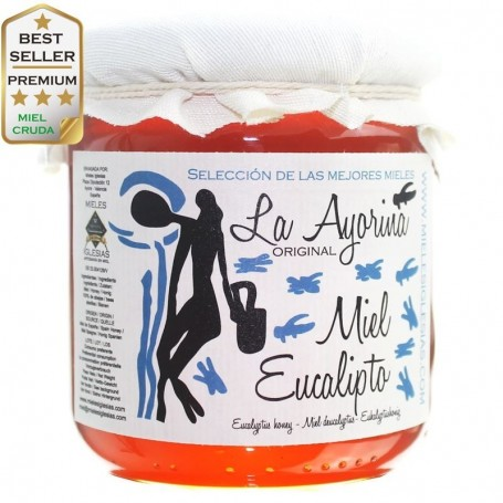 Miel cruda de eucalipto de España