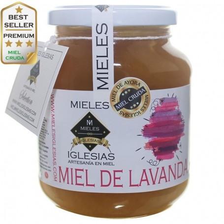 Miel de espliego lavanda de apicultura