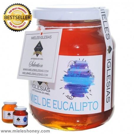 Miel natural de eucalipto