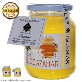 Miel de natural de azahar (naranjos y limoneros)