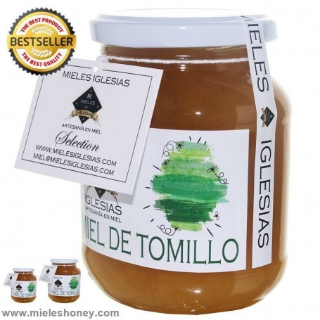 Natural tomillo honey (Spain)