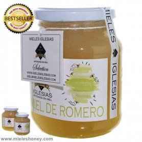 Natural honey rosemary
