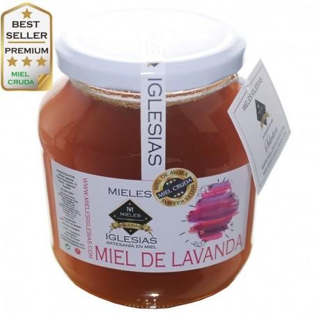 Natural lavender honey