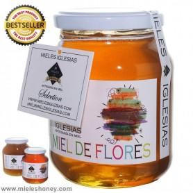 Thousand flowers honey natural El colmenar de ayora