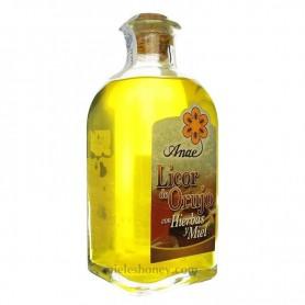 Licor de Orujo de Hierbas con Miel 70cl.