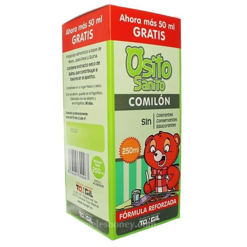 Osito sanito comilon (polen, jalea real y quina) - Tongil