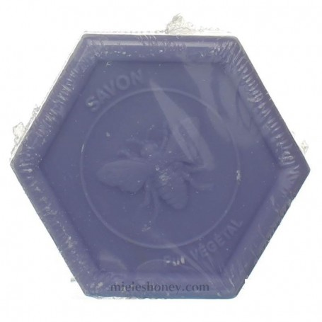 Jabón frances Hexagonal a la Miel