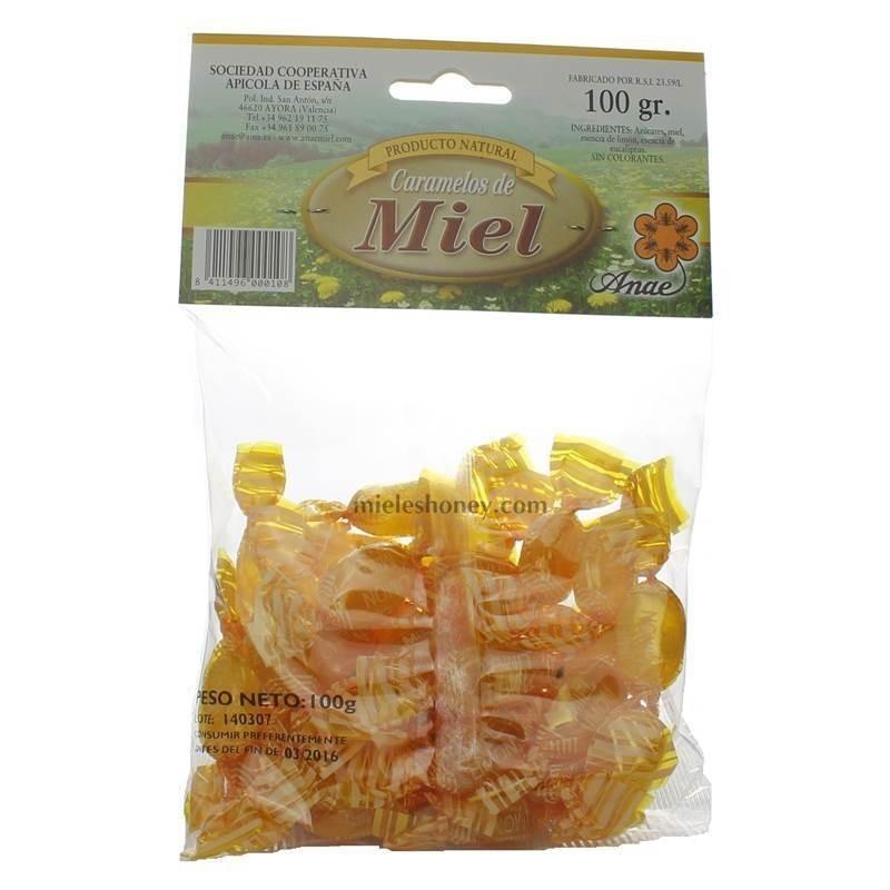 Caramelos miel - ANAE - Ayora