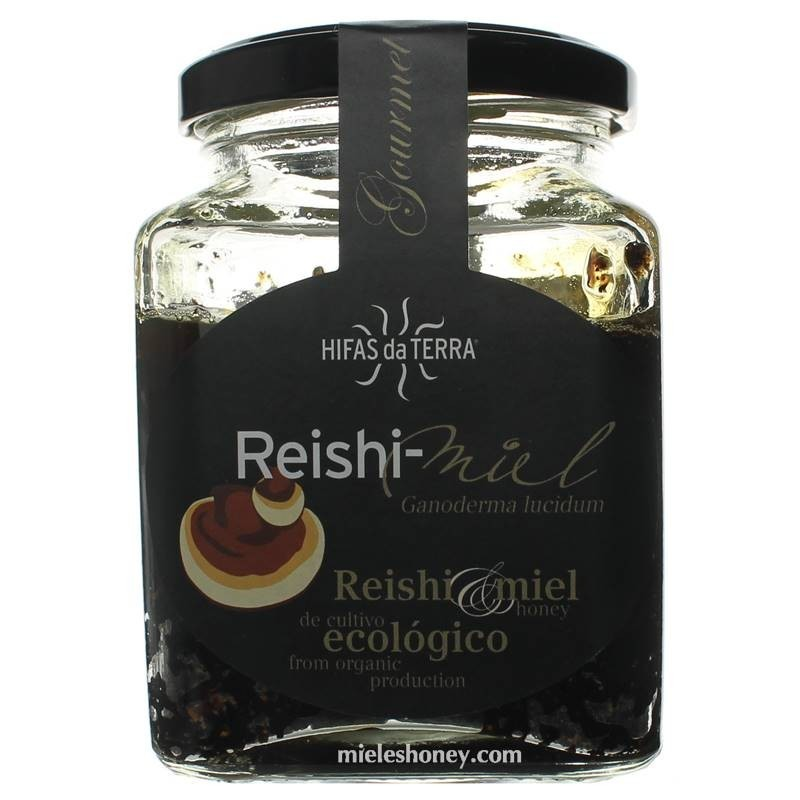 Hifas da Terra - Reishi-Honey (Brown Honey and Reishi (Ganoderma lucidum) powder)