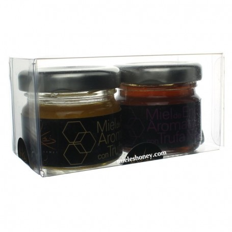 Truffled Honey Kit - White Truffle and Black Truffle - Mykes Gourmet