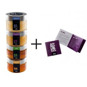 Kit 4 World Honeys - Bee-Honey