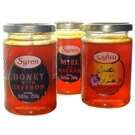Honey with saffron