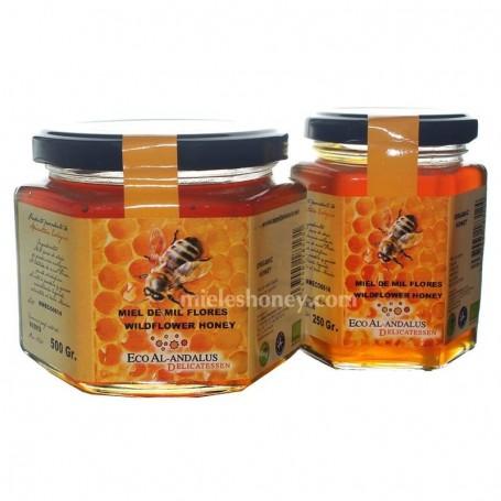 Miel de Mil Flores Ecológica de Granada