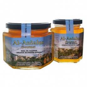 Orange blossom Honey with quality seal from Spain (D.O.P Granada)