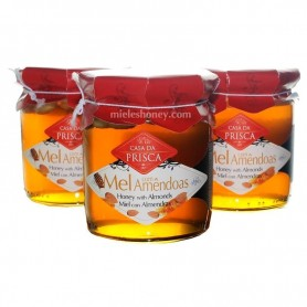 Honey with Almond 275g.