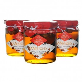 Honey with Hazelnuts 275g.