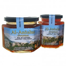 Chestnut Tree Honey with Quality Seal from Spain (D.O.P Granada)