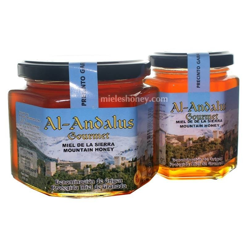 Sierra Honey with quality seal from Spain (D.O.P Granada) - Al-Andalus Delicatessen