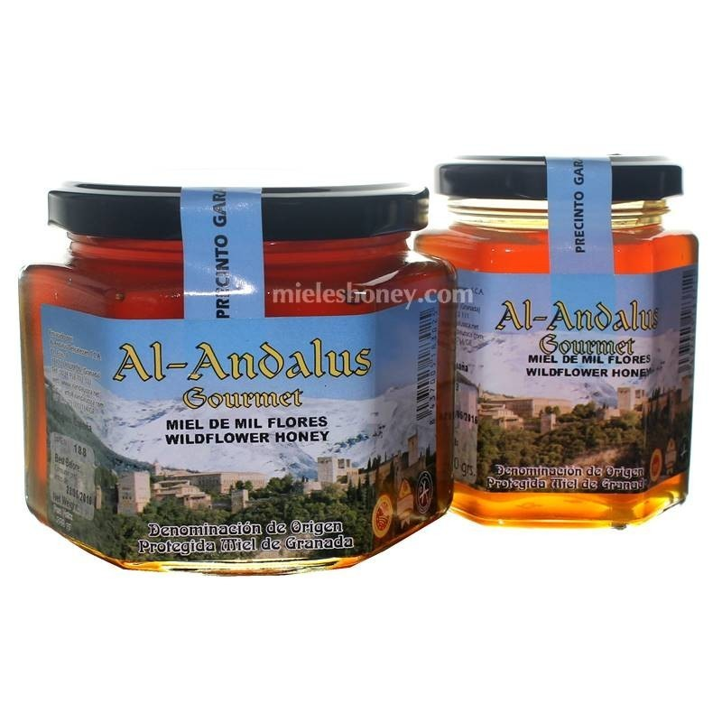 Wildflower Honey with quality seal from Spain (D.O.P Granada) - Al-Andalus Delicatessen