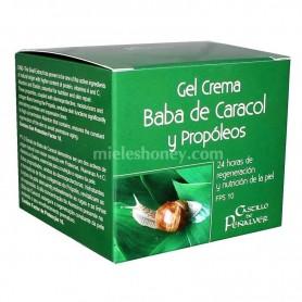 Crema hidratante Baba de Caracol y Propóleos