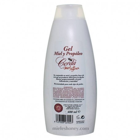 Gel Miel y Propóleo 400ml.