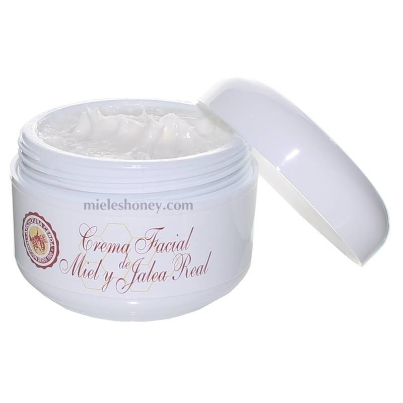 Moisturizing face cream with royal jelly and honey 50ml