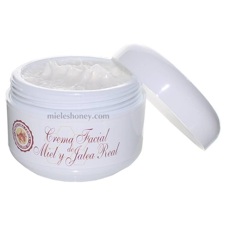 Crema de cara hidratante con jalea real y miel 50ml