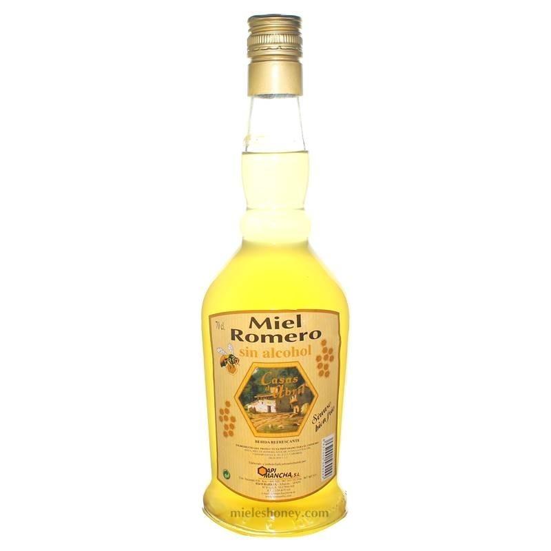 Rosemary honey Liqueur 70cl. NON ALCOHOLIC
