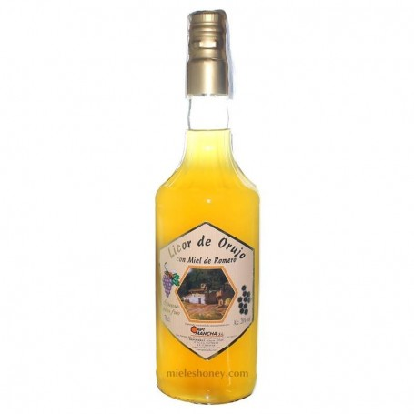 Licor de Orujo con Miel de Romero 70cl.