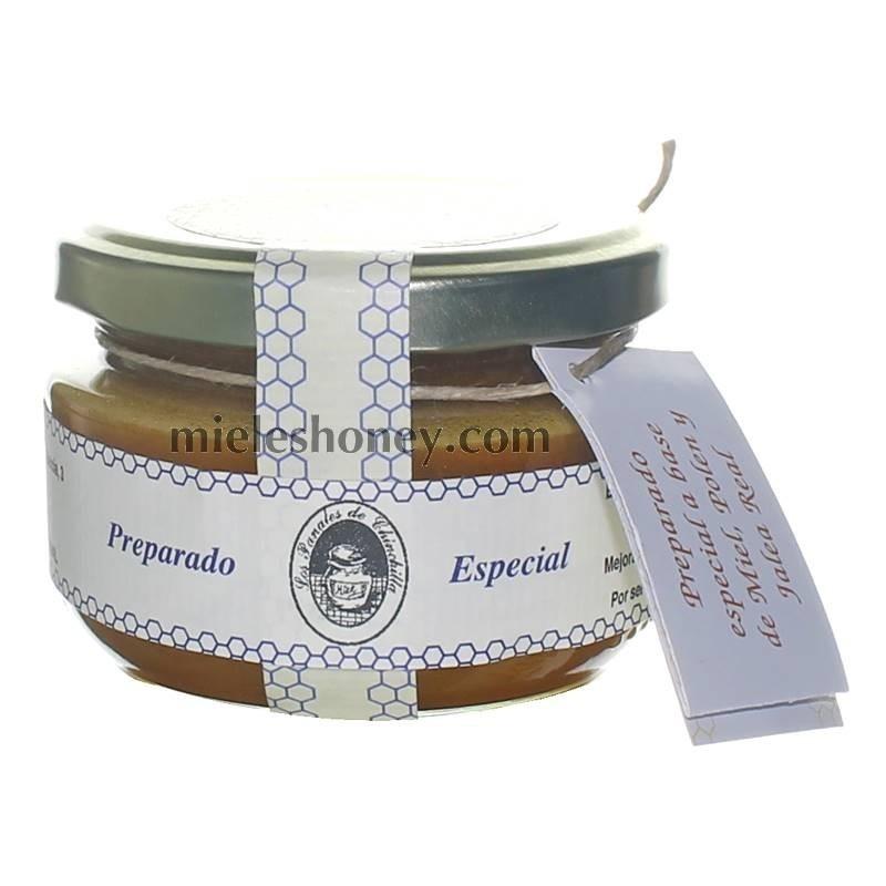 Preparado especial BOMBA (jalea real, polen, miel)