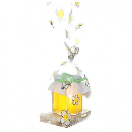 Honey Jar 250 g. DETAIL GIFT MINI PALLET - GIFT