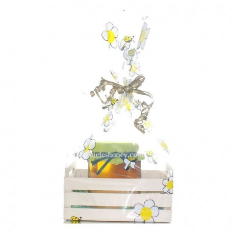 Honey Jar 250 g. GIFT WENDDINGS and EVENTS. Mini Box