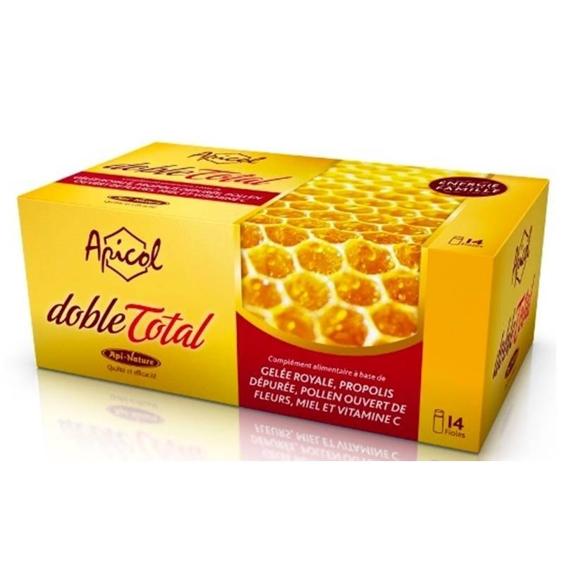 Apicol Total (jalea real, polen, propóleo, miel)