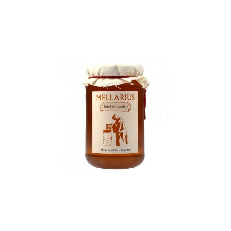 Orange blossom honey bee