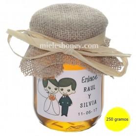 Detalle de miel 250 g. - Regalo Bodas, comunión, bautizo.