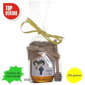 DESIGN honey pot 250g. Wedding details